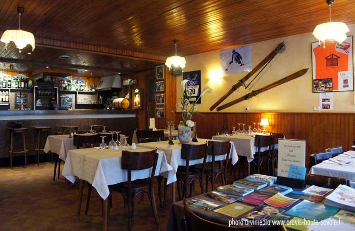 Restaurant Le Cret Petit Bornand